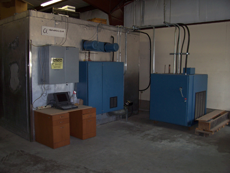 Chamber Electrical and Particulate Generation Cabinets